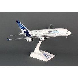 SkyMarks A380-800 Airbus House New Colors 1:200 With Gear + stand