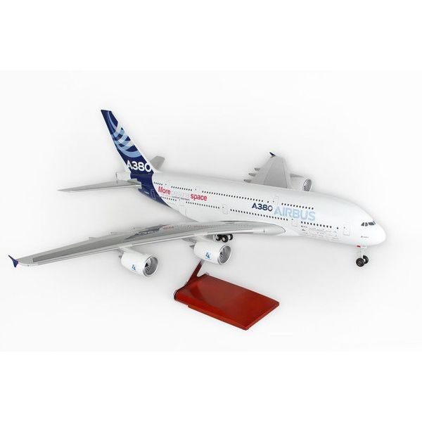 Skymarks Supreme A380-800 Airbus House Livery 1:100 with Gear+Stand