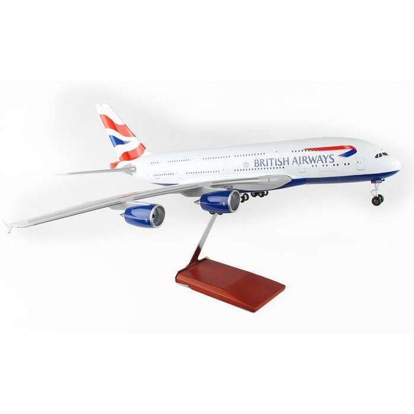 Skymarks Supreme A380-800 British Airways 1:100 with Gear+stand