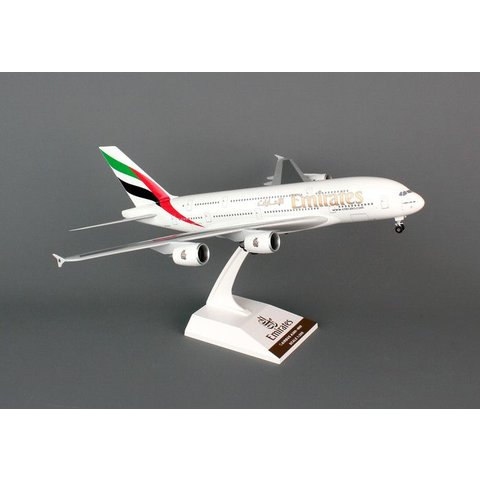 A380-800 Emirates 1:200 With Gear + stand