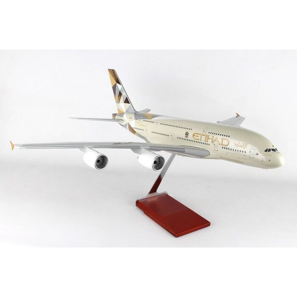 Skymarks Supreme A380-800 Etihad Nc14 1:100 Supreme Stand