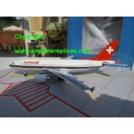AeroClassics ACLAS A310-300 Swissair HB-IPK 1:400