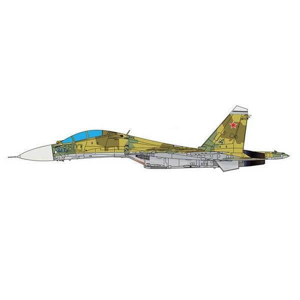 JC Wings SU30MK Flanker C Russian AF 603 desert camo 1:72 (no stand)