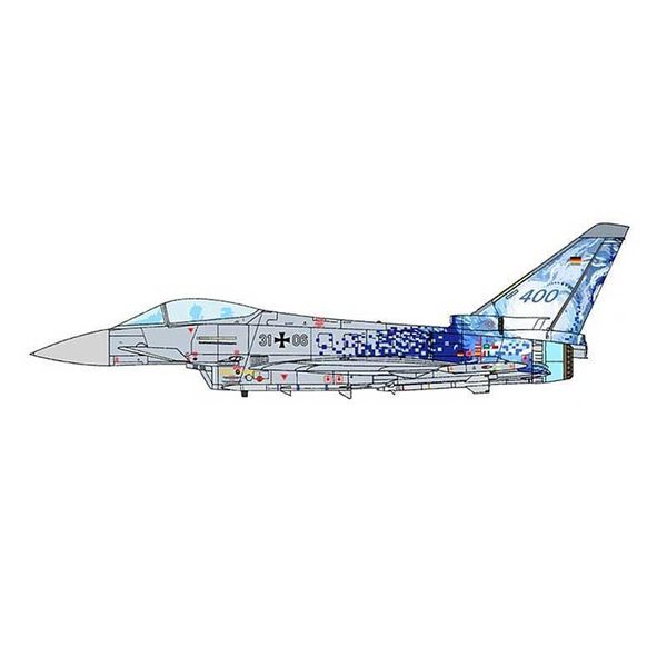JC Wings EF2000 Typhoon S TLG31 Luftwaffe 31+03 400th 1:72 (no stand)**o/p**