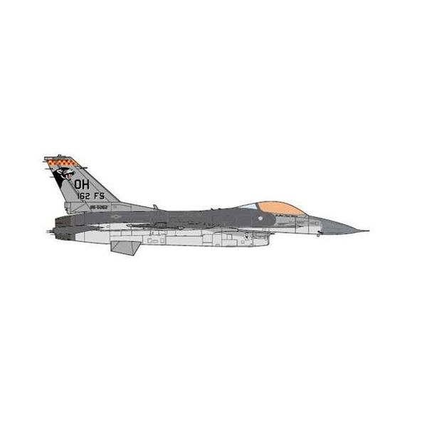 JC Wings F16C Fighting Falcon 162FS OH ANG USAF Operation Southern Watch 1:72 (no stand)