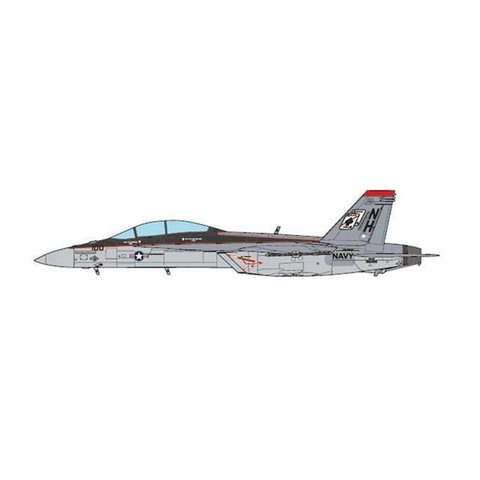 F18F Super Hornet VFA41 Black Aces CAG NH100 1:72 (no stand)