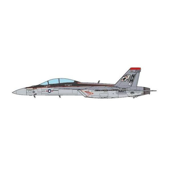 JC Wings F18F Super Hornet VFA41 Black Aces CAG NH100 1:72 (no stand)