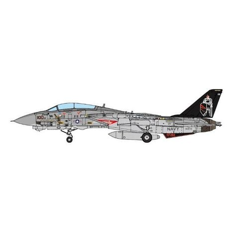 F14A VF154 Black Knights NF-100 CV63 USS Kittyhawk 1:72 (no stand)