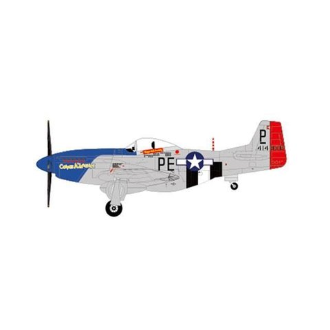 P51D Mustang 328FS, 352FG, 8thAF, December 1944 Maj.George Preddy 1:72 with stand