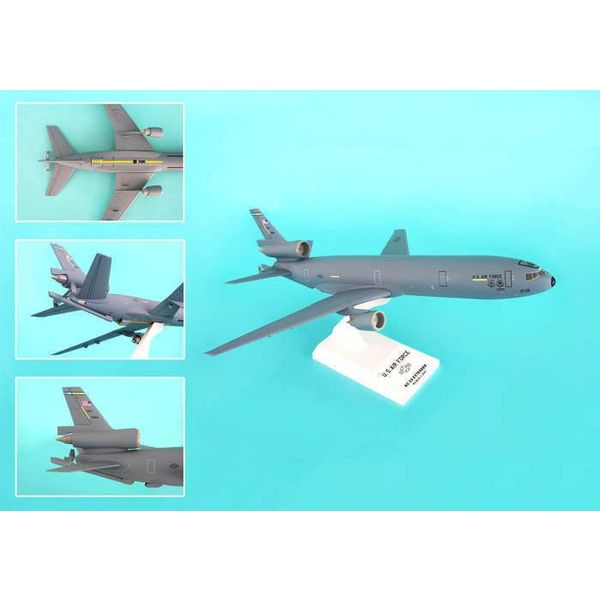 SkyMarks KC10 USAF McGuire AFB Grey 1:200 with stand