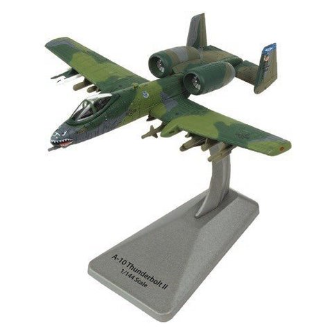 A10A Thunderbolt II 74FS 23FW EL Smithsonian Series 1:100 with stand