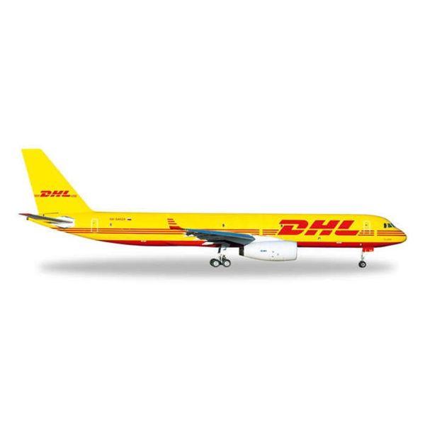 Herpa TU204 DHL / AVIASTAR YW/RD 1/500