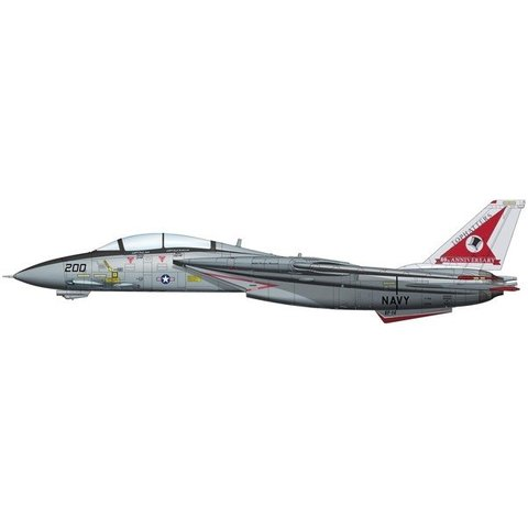 F14A Tomcat VF14 Tophatters 80th Anniversary 1:72