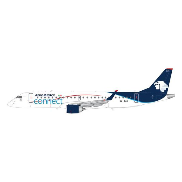 Gemini Jets ERJ190 Aeromexico Connect XA-GAR 1:200 with stand