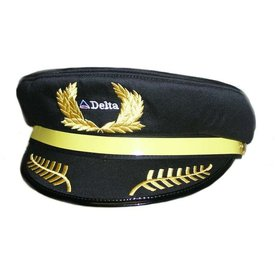 Daron WWT Delta Airlines Child's Pilot Cap