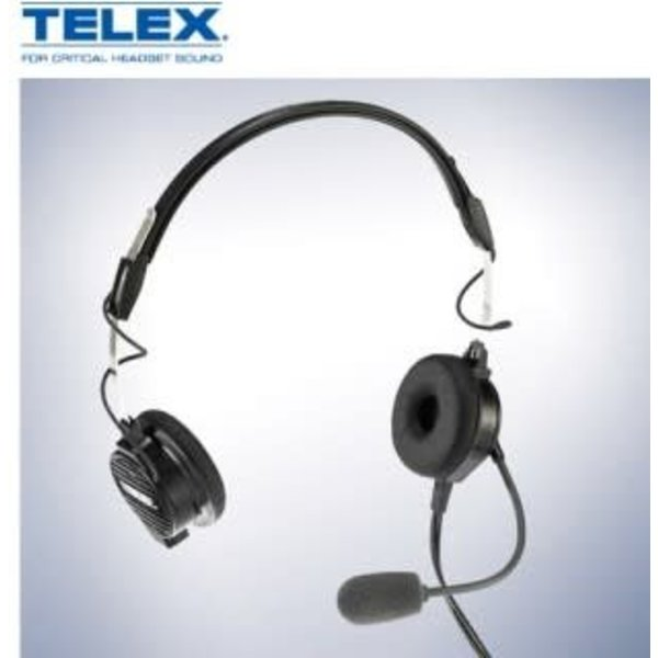 Telex Airman 850 ANR Headset General Aviation / Boeing Jacks