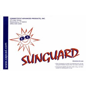 Sunguard Sunguard Static Sun Visor Small