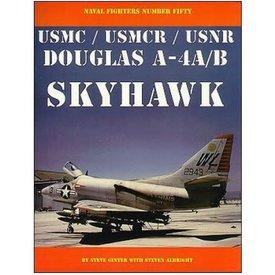 Naval Fighters Douglas A4A A4B Skyhawk USMC/R/USNR: NF#50 SC