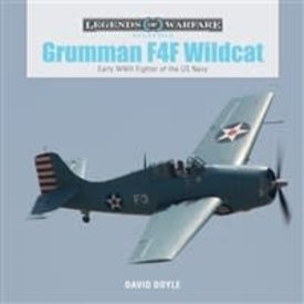 Schiffer Legends of Warfare Grumman F4F Wildcat: Legends of Warfare Hardcover