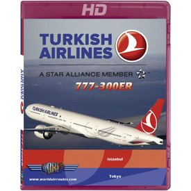 justplanes BluRay Turkish B777-300ER Istanbul to Narita