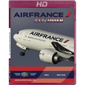 justplanes BluRay Air France B777-200ER Paris CDG- New York JFK