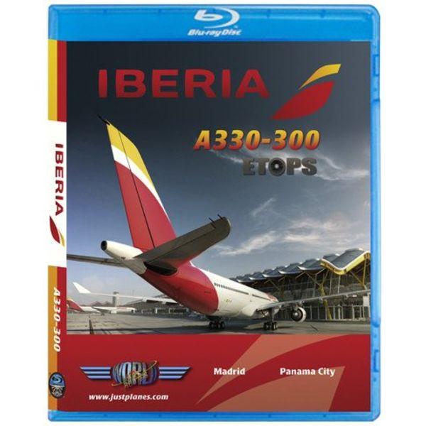 justplanes JUSTP BLU IBERIA A330-300 ETOPS MAD-PTY