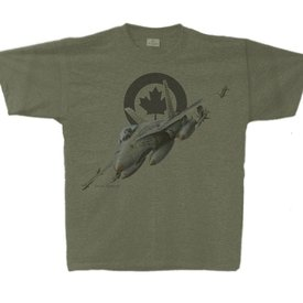 Labusch Skywear CF-18 Hornet Vintage Heather T-Shirt