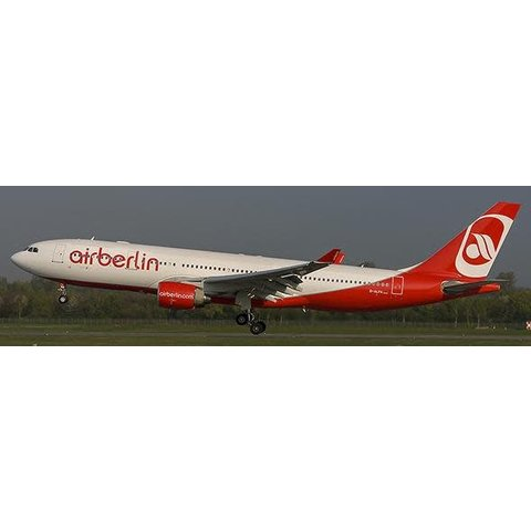 A330-200 air berlin D-ALPA 1:200 with Stand