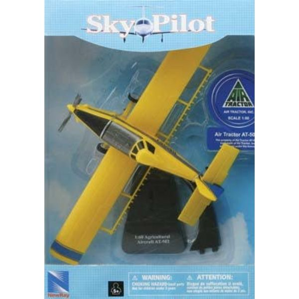 NewRay AT502 Air Tractor Agricultural Crop Sprayer 1:60 Diecast Sky Pilot