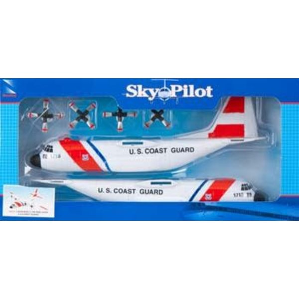 NewRay C130 Hercules US Coast Guard Prepainted Kit Sky Pilot