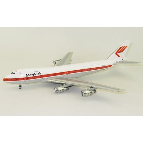 B747-200 Martinair Holland PH-MCE 1:200 With Stand