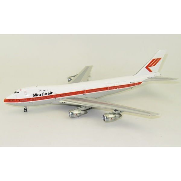 InFlight B747-200 Martinair Holland PH-MCE 1:200 With Stand