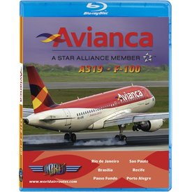justplanes BluRay Avianca A319 F100
