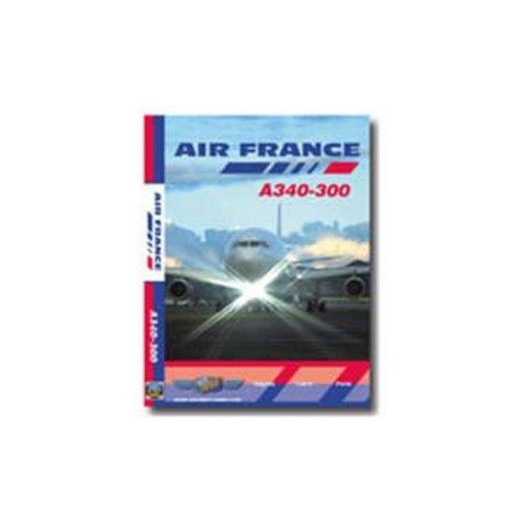 DVD Air France A340-300 Bogota, Cairo, Paris **o/p**