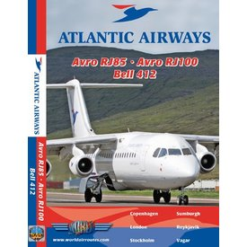 justplanes DVD Atlantic Airways Avro RJ85, Avro RJ100, Bell 412 **o/p**