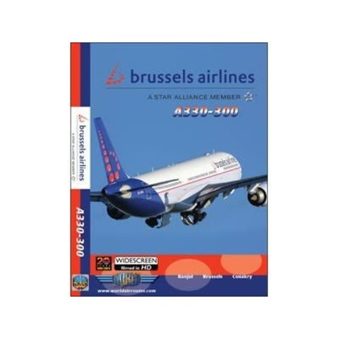 DVD Brussels Airlines A330-300  **o/p**