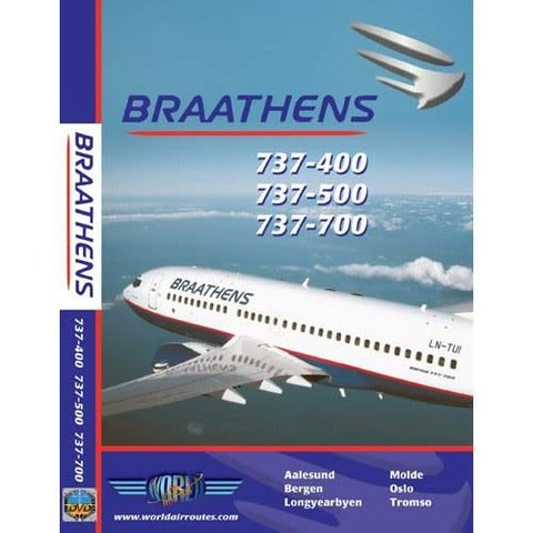 DVD Braathens B737-400, B737-500, B737-700 **O/P*