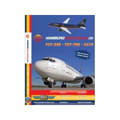 DVD Hamburg International A319, B737-500, B737-700  **O/P**