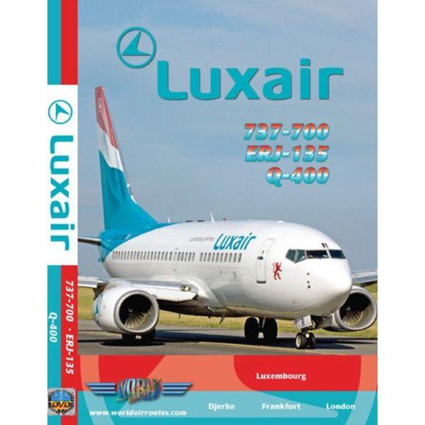 justplanes DVD Luxair B737-700, Q400, ERJ135  **O/P**