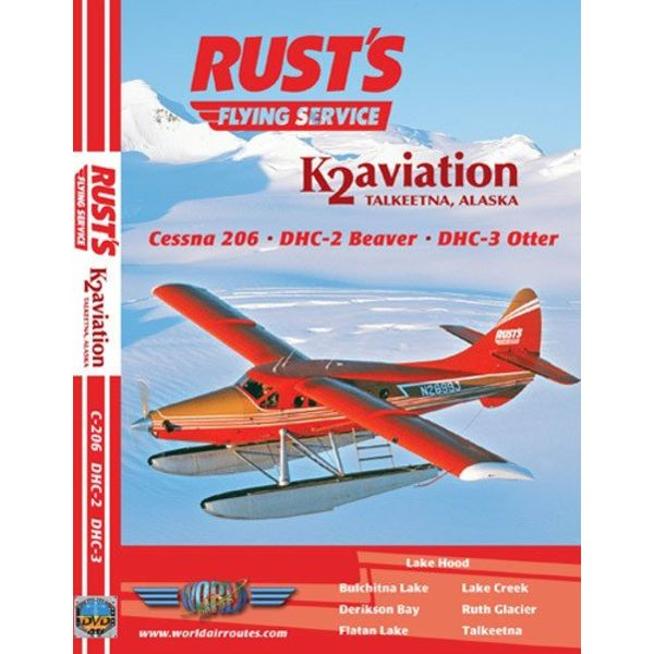 justplanes DVD Rusts Flying Service DHC2 Beaver, DH3 Otter, Cessna 208 **O/P**