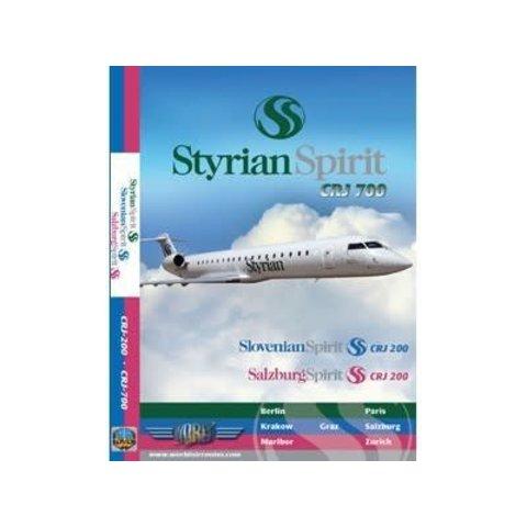 DVD Styrian Spirit CRJ200 CRJ700 Salzburg**o/p**