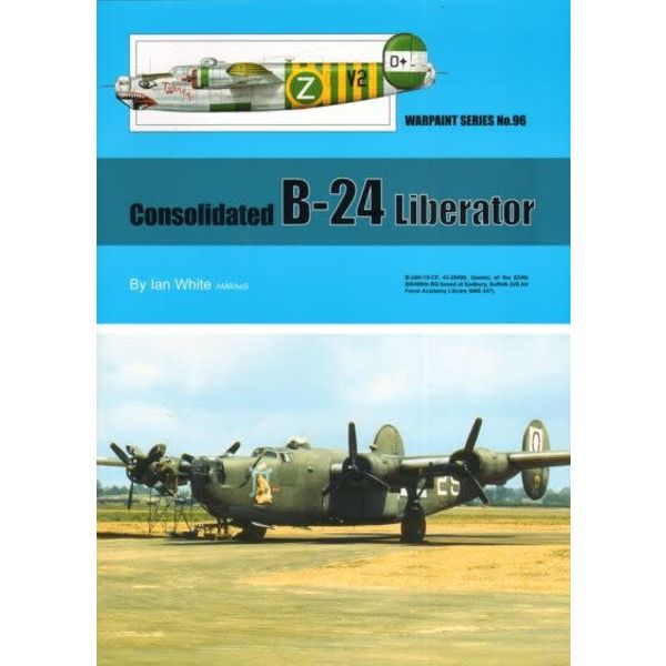 Warpaint Consolidated B24 Liberator: Warpaint #96 softcover