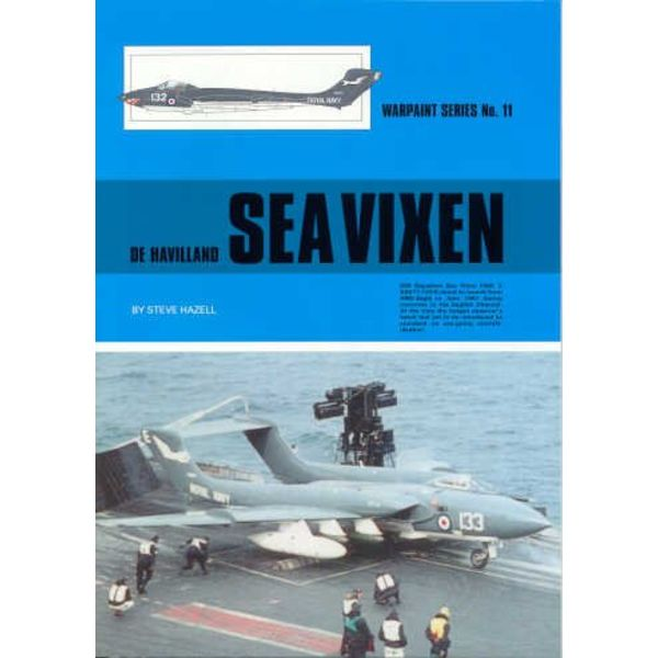 Warpaint DeHavilland Sea Vixen: Warpaint #11 softcover