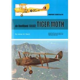 Warpaint DeHavilland DH82 Tiger Moth: WarPaint #101 softcover