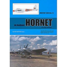 Warpaint DeHavilland Hornet & Sea Hornet: Warpaint#19 Softcover