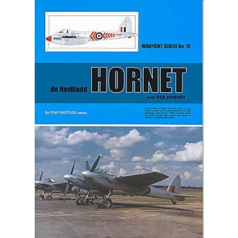 DeHavilland Hornet & Sea Hornet: Warpaint#19 Softcover