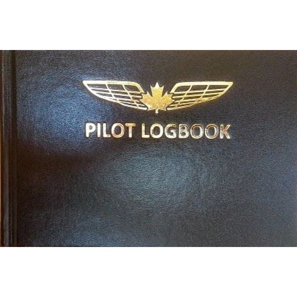 "Pilot Logbook Black 9 1/4"" x 6 1/4"""