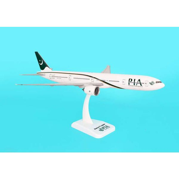 Hogan B777-300ER Pakistan PIA New Livery 2010 1:200 with stand (no gear)