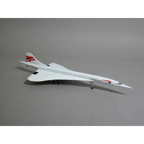 Concorde British Airways Union Jack G-BOAE 1:200