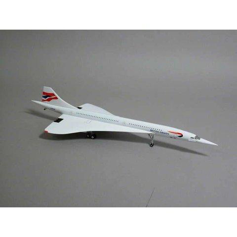 Concorde British Airways Union Jack Livery G-BOAE 1:200 diecast metal